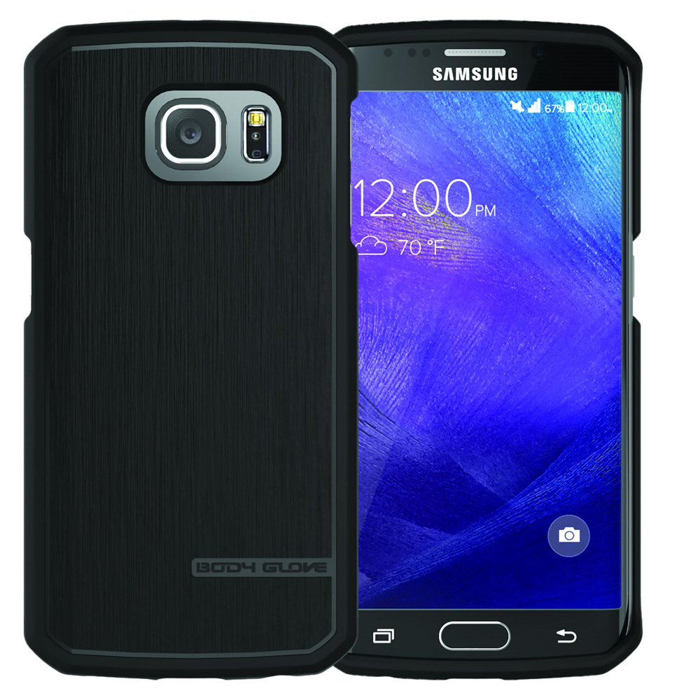 the latest d3fc1 eacd6 Body Glove Fusion Pro Phone Case for Samsung Galaxy S6 Edge - Black/Grey