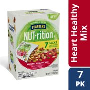 Planters NUT-rition Heart Healthy Trail Mix with Walnuts, 7 ct - 7.5 oz Box