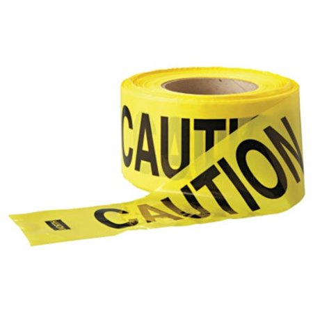 Economy Barrier Tape, 3 In X 1,000 Ft, Yellow, (Best Body Type For Ballet)