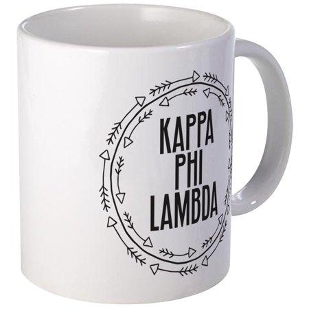 CafePress - Kappa Phi Lambda Sorority Circle Arrow Mugs - Unique Coffee Mug, Coffee Cup CafePress