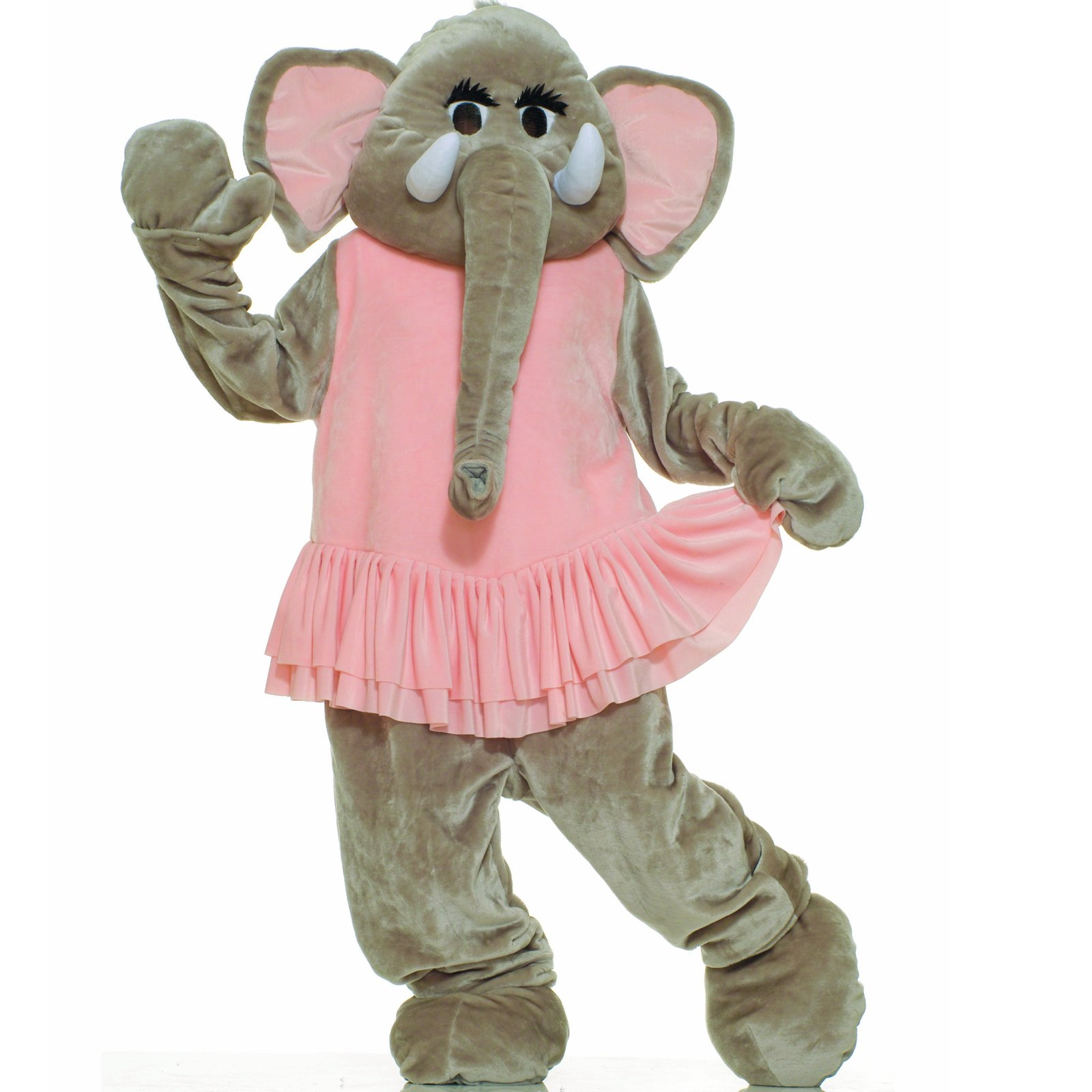 Elephant Dancing Mascot Adult Halloween Costume, Size: Men's - One Size