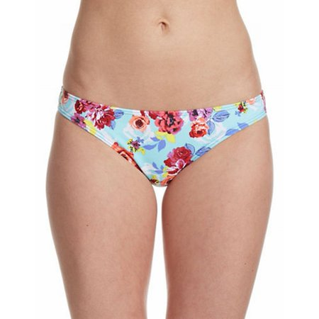 Womens Medium Floral Bikini Bottom Swimwear M