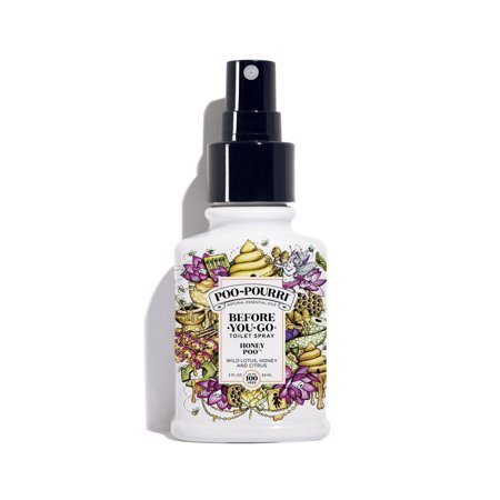 Poo~Pourri Before-You-Go Toilet Spray, Honey Poo Scent, 2oz