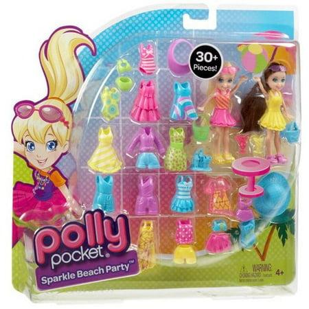 Polly Pocket Beach Fashion Pack Walmart Com