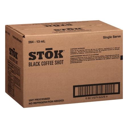 Summit Single Shot - STOK Single Serve Black Coffee Shots, 264 Count