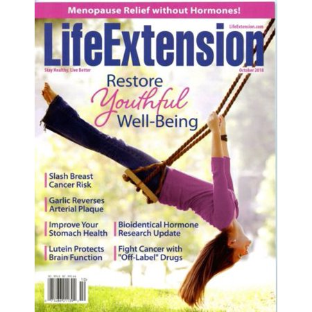 - Life Extension Magazine, October 2018 See Contents Below