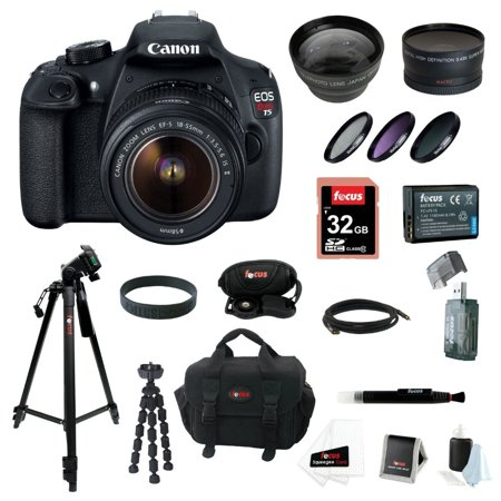 Canon EOS Rebel T5 DSLR Camera with EF-S 18-55mm IS II Lens kit