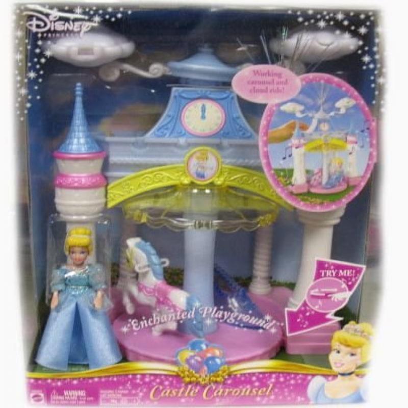 Mattel Disney Princess Enchanted Cinderella Musical Castl...