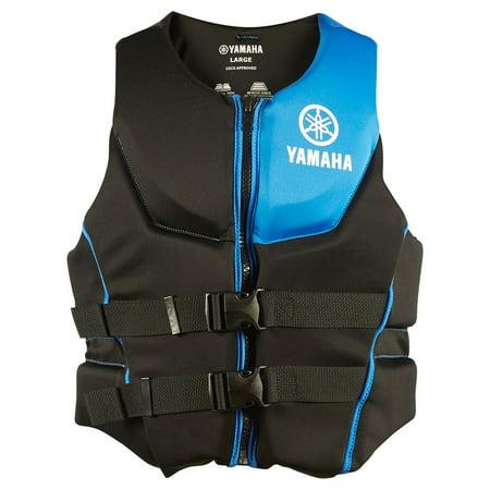 OEM Yamaha Men's Neoprene 2-Buckle PFD Life Jacket Vest