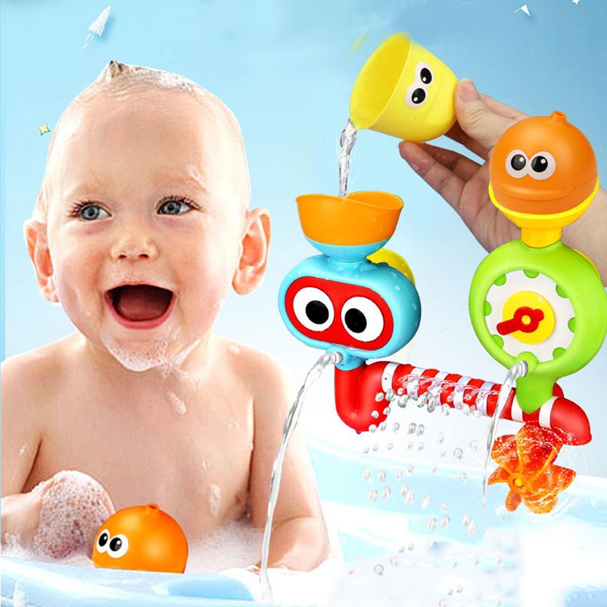 Outgeek Baby Bath Toy Set Creative Spray Station Bathtub Toy Bath Fun Toy Shower Toys for Baby Kids Boys Girls by Outgeek