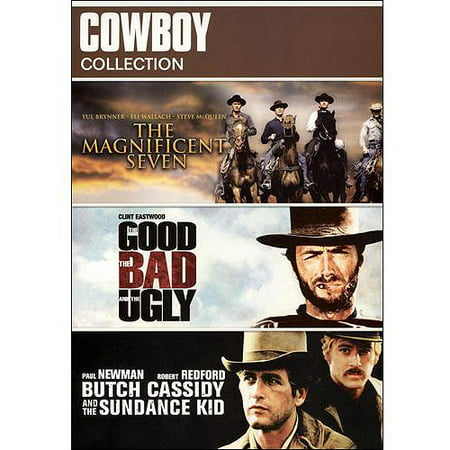 Cowboy Collection: Butch Cassidy And The Sundance Kid / The Good, The Bad And The Ugly / The Magnificent Seven