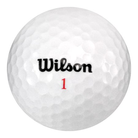 Wilson Golf Balls, Used, Mint Quality, 108 Pack