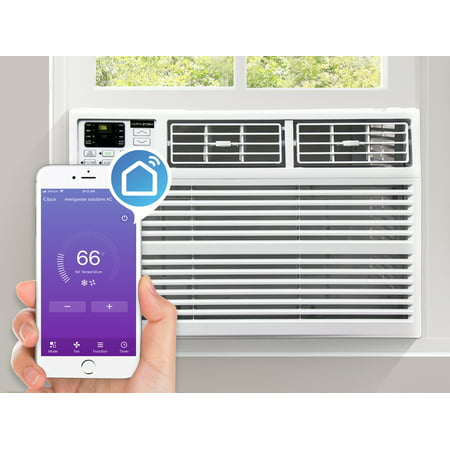 North Storm 8,000 BTU Window Air Conditioner with WiFi, Remote Control, Energy
