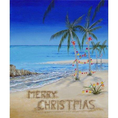 Christmas Sands Poster Print by AV Art ()