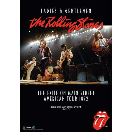 Ladies and Gentlemen: The Rolling Stones (1973) 11x17 Movie (Ladies And Gentlemen The Rolling Stones Brown Sugar)