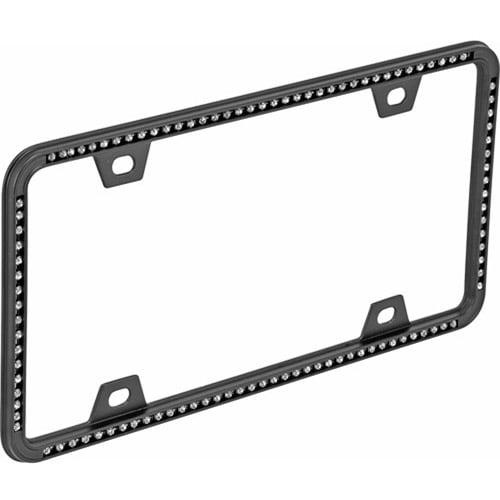 Bell Diamonds License Plate Frame, Black
