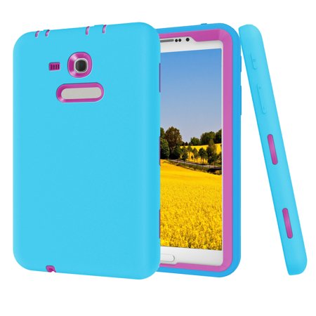 the best attitude 66c87 0ac34 UTOVME For Samsung Galaxy Tab E Lite 7.0 T113 Hard Heavy Duty Shockproof  Case Cover for Galaxy Tab 3 Lite T110 T111 T116