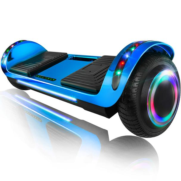 Graspwind Self Balancing Scooter 6.5 Two-Wheel Electric Scooter Built-in Bluetooth Speaker with Remote Controll and LED Lights Green UL2272 Certified