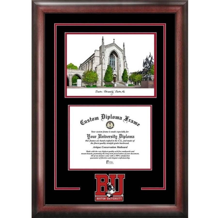 Celebration Frames North Carolina State University 11 x 14 Matte Black Finish Infinity Diploma with Tassel Box Frame