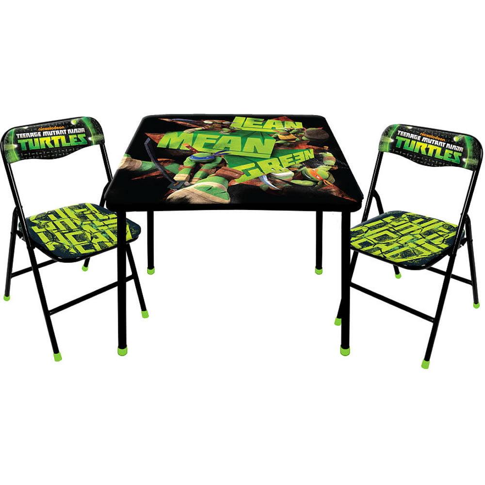Nickelodeon Teenage Mutant Ninja Turtles Table and Chairs Set