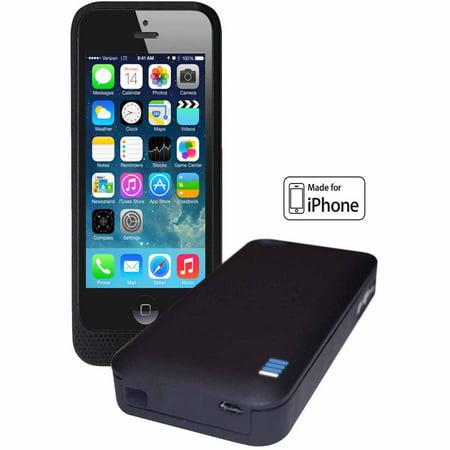 lifecharge extended battery case for apple iphone 5 5s. Black Bedroom Furniture Sets. Home Design Ideas
