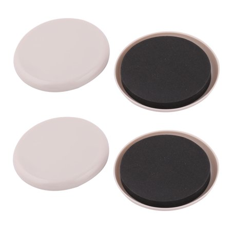 Reusable Furniture Slider Pad Moving Chair Foot Cover Light Gray 4pcs ()