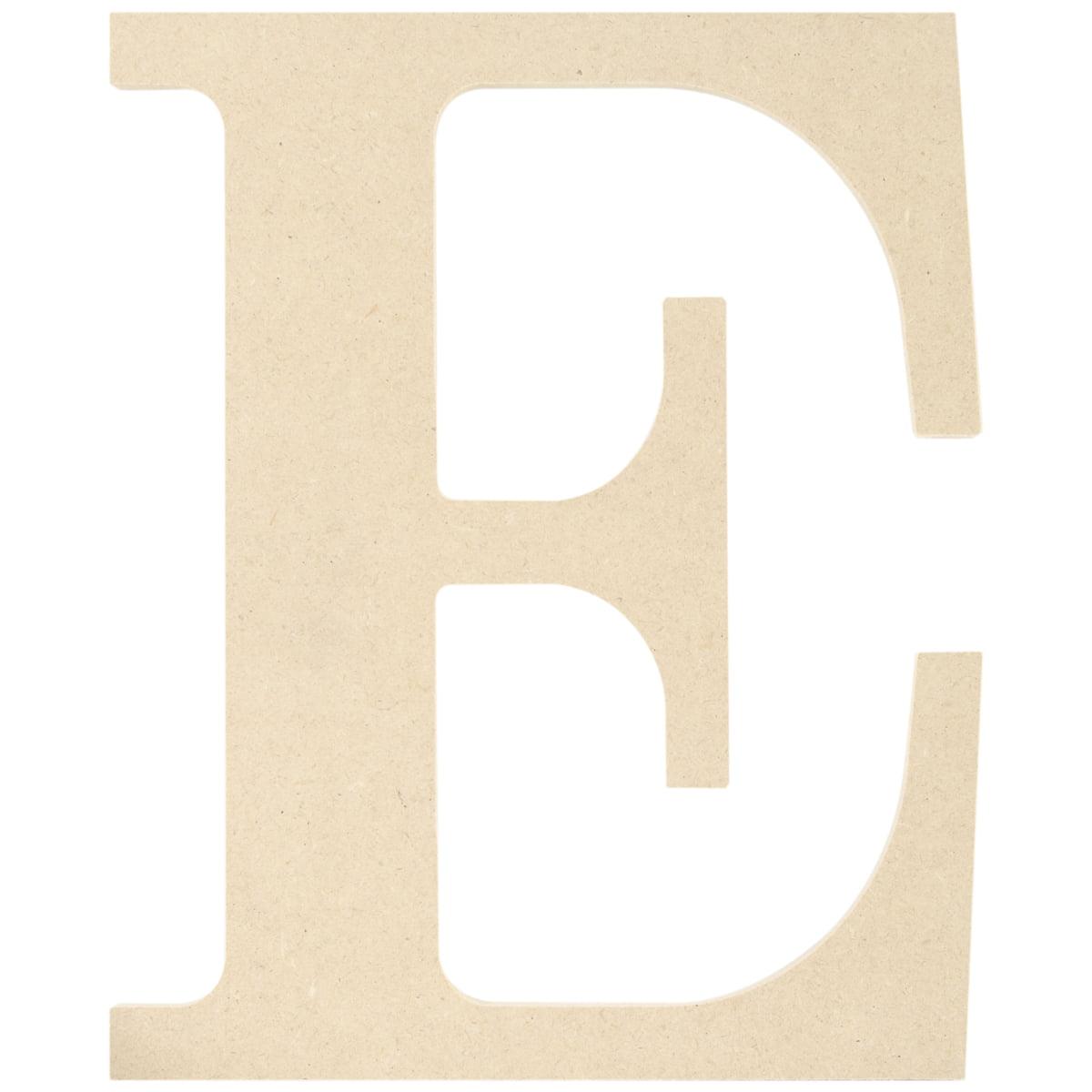 "MDF Classic Font Wood Letters & Numbers 9.5""-E - image 1 de 1"