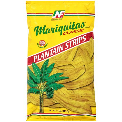Mariquitas Classic Plantain Strips Chips, 12 oz