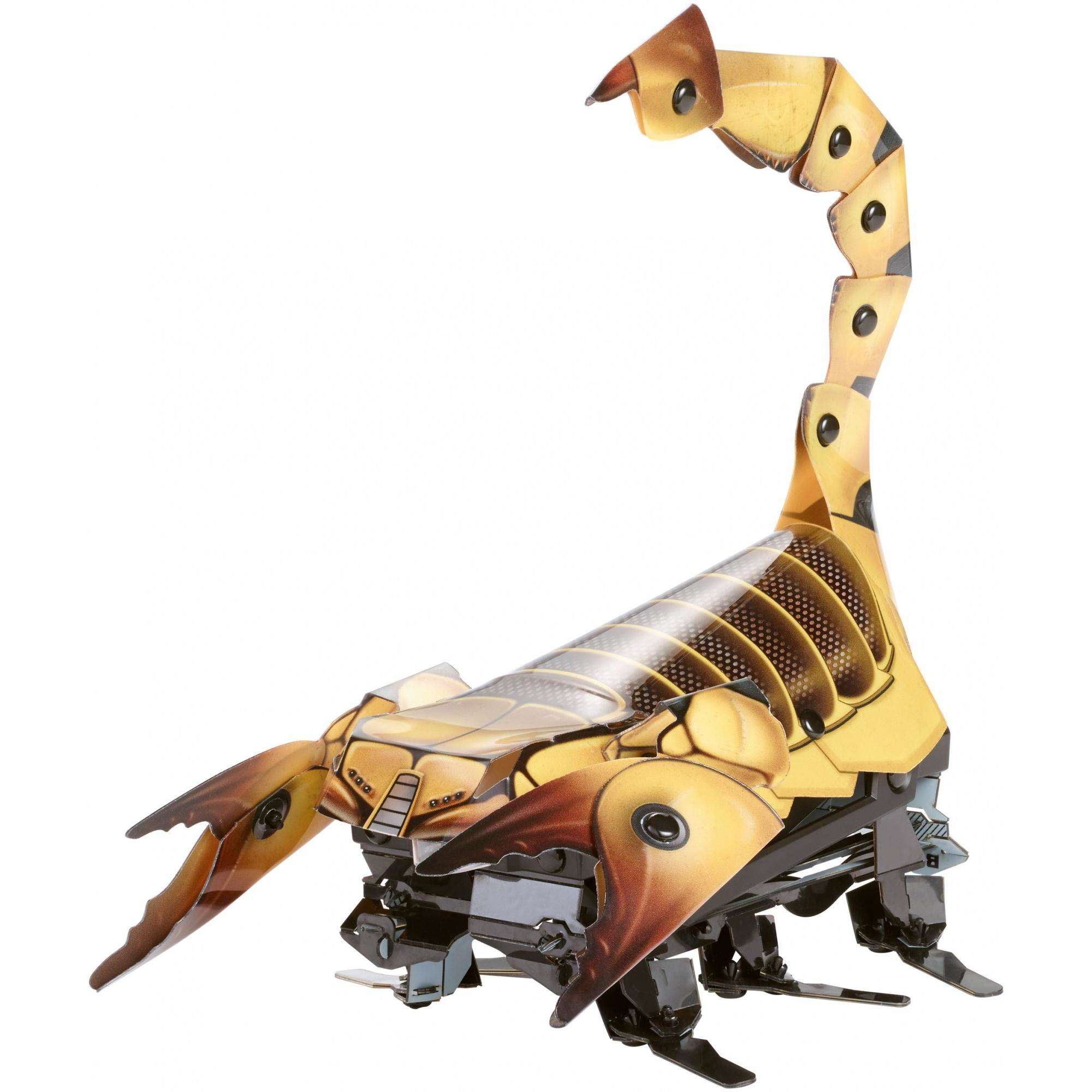 Kamigami Scarrax Battle Robot, Engineering Build Program Play