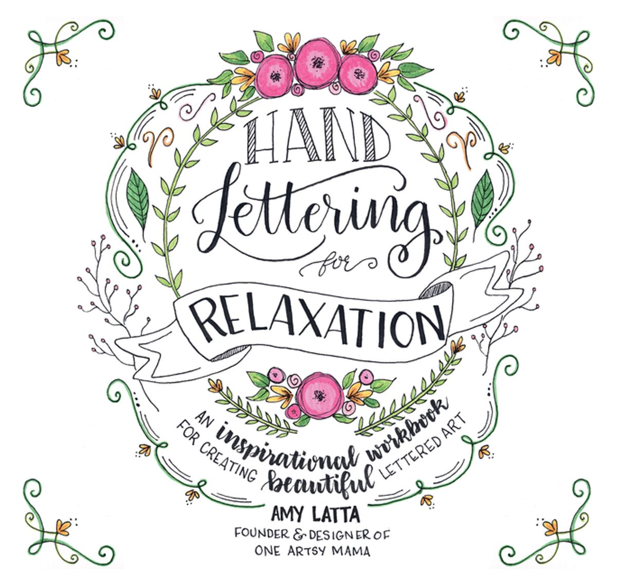 Hand Lettering for Relaxation - eBook