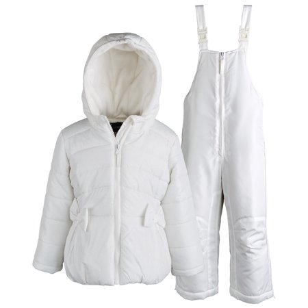 99d7cc3d8eee ROTHSCHILD - Rothschild Baby Girls Down Alternative Bubble Snowsuit ...