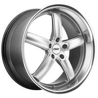 TSW Stowe 20x10 5x120 +35mm Hyper Silver Wheel Rim