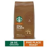 Starbucks Medium Roast Ground Coffee — Pike Place Roast — 100% Arabica — 1 bag (28 oz.)
