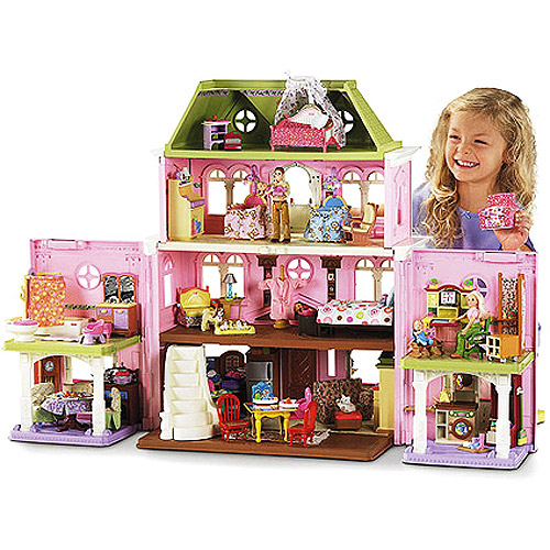 Fisher Price Loving Family Grand Dollhouse With Bonus Pack