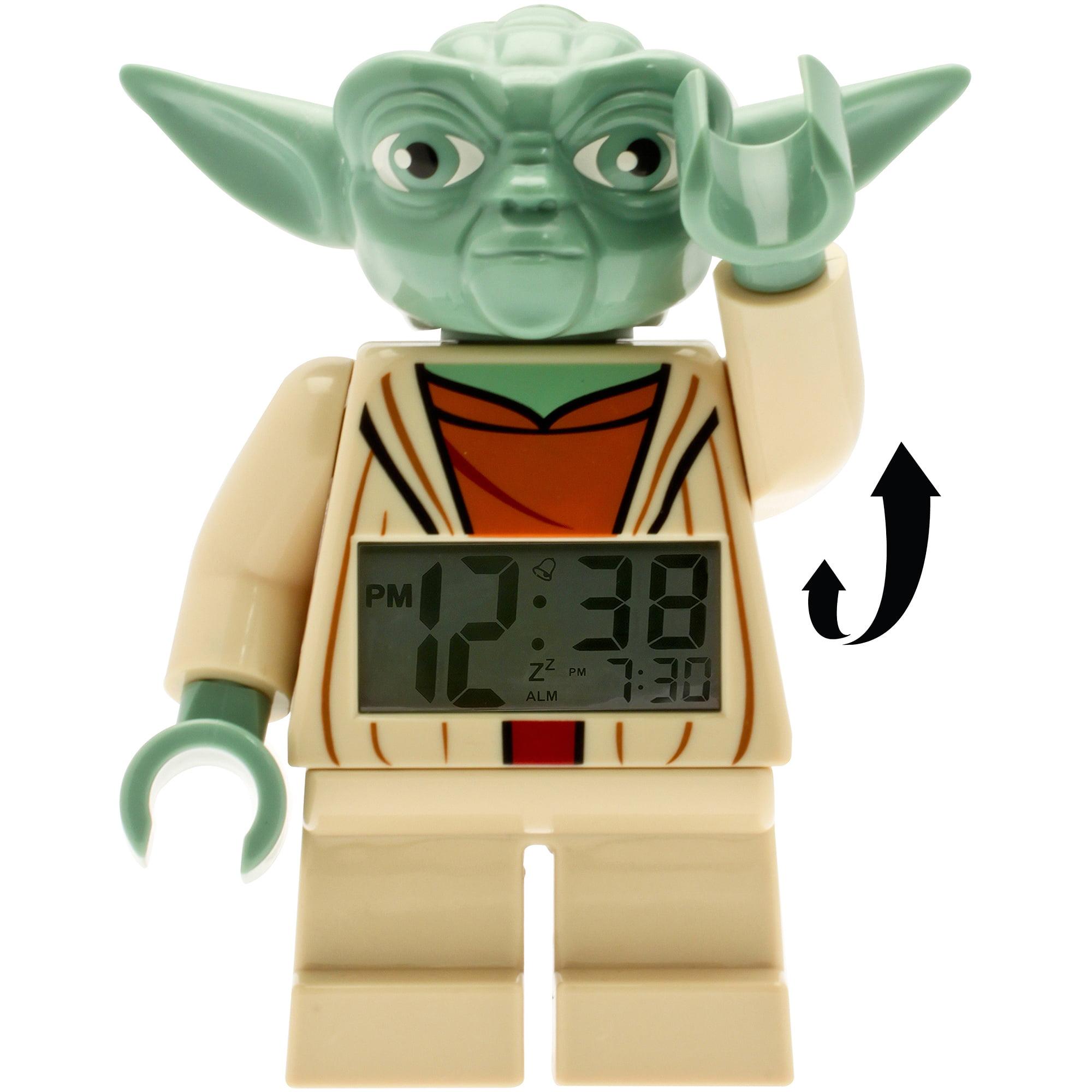 lego star wars yoda fig clock walmartcom - Lego Yoda