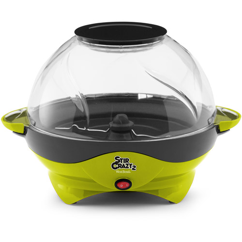 West Bend Stir Crazy 2 Corn Popper, Green