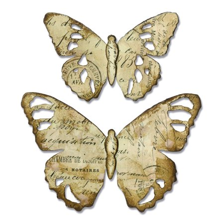 Sizzix Bigz Die - Tattered Butterfly by Tim - Butterfly Die Cut