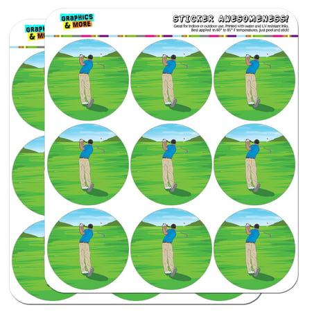Golfer Sticker (Golf Golfing Golfer Sport 2