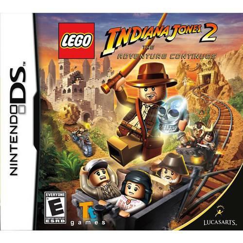 Lego Indiana Jones 2: Adventure Continues (DS)