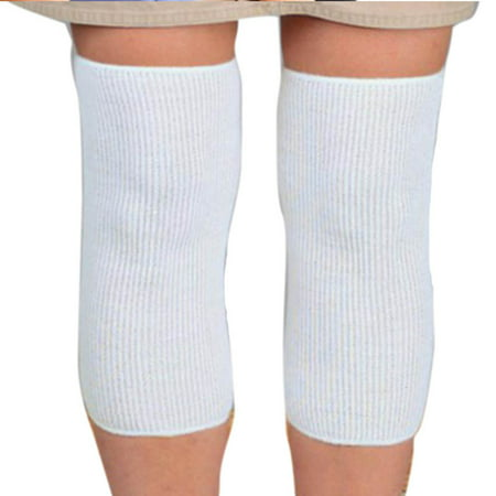 Knee Sleeve Leg Warmers Winter Breathable Thermal Wool Cashmere Knee (Fleece Knee Warmers)