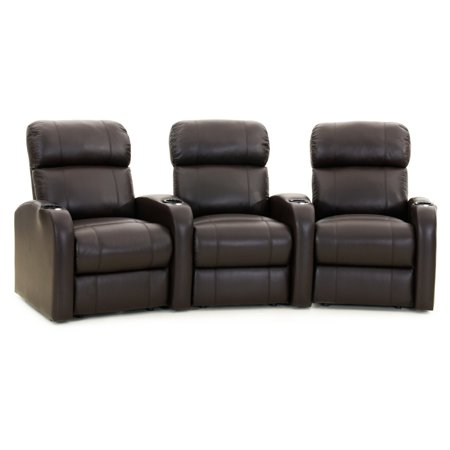 Octane Diesel XS950 3 Seater Curved Home Theater Seating Diesel Series Industrial Seating