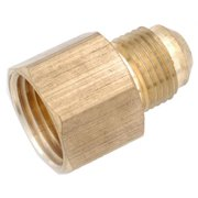 Anderson Metals 714046-0612 .38 in. Flare x .75 in. Female Iron Pipe Thread Brass Flare Connector