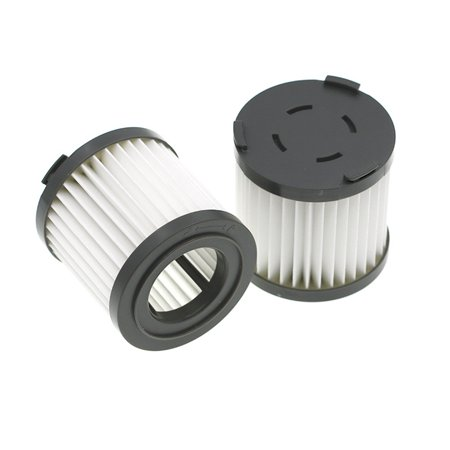 2PC Vacuum Cleaner Accessories Filter Element HEPA For JIMMY JV51 CJ53 C53T CP31 2PC Vacuum Cleaner Accessories Filter Element HEPA For XIAOMI JIMMY JV51 CJ53 C53T CP31 Features:Easy to install and use  Effectively keep household dust.for XIAOMI JIMMY PD505/CJ53PD505/CJ55PD505/CX5PD506/C31TPD506/CP31PD506/C53TPD506/C53SPD506/C55TPD506/CB100 PD506/CB100 KINGCLEANPD508/JV51PD508/M52(EU)PD509/C83Replacing filter on a regular basis will help your machine work wellMade of high quality material, durable and practical to useFiltration of micro-dust can filter the exhaust air and protect the motor Made of qualified material, it can contain small dust. Low resistance to air, favoring the operation of the air cleaner. The structure of the pore and the surface area can be brought into contact with the surrounding air, so it can absorb much more dust.It is recommended to change once every 3-6 monthsPackage includes: 2 X Filter