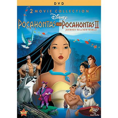 Pocahontas and Pocahontas II (2 Movie Collection) (DVD) - 90's Disney Halloween Movies