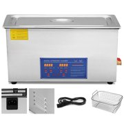 VEVOR 30L Ultrasonic Cleaner Stainless Steel Industry Heated Heater w/Timer