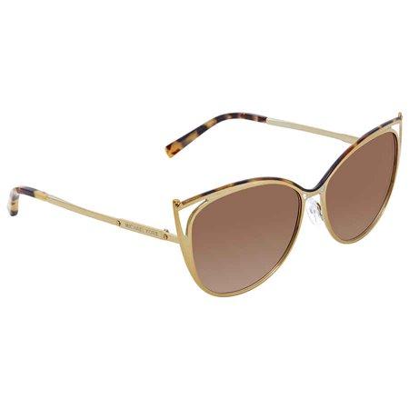 c5e2a0f6cf794 Michael Kors - michael kors smoke gradient cat eye ladies sunglasses mk1020-116313-56  - Walmart.com