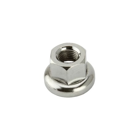 Track Hub Nut Front 9x1mm Chrome. Bicycle nut, bike nut, track bike nut, fixie bike nut