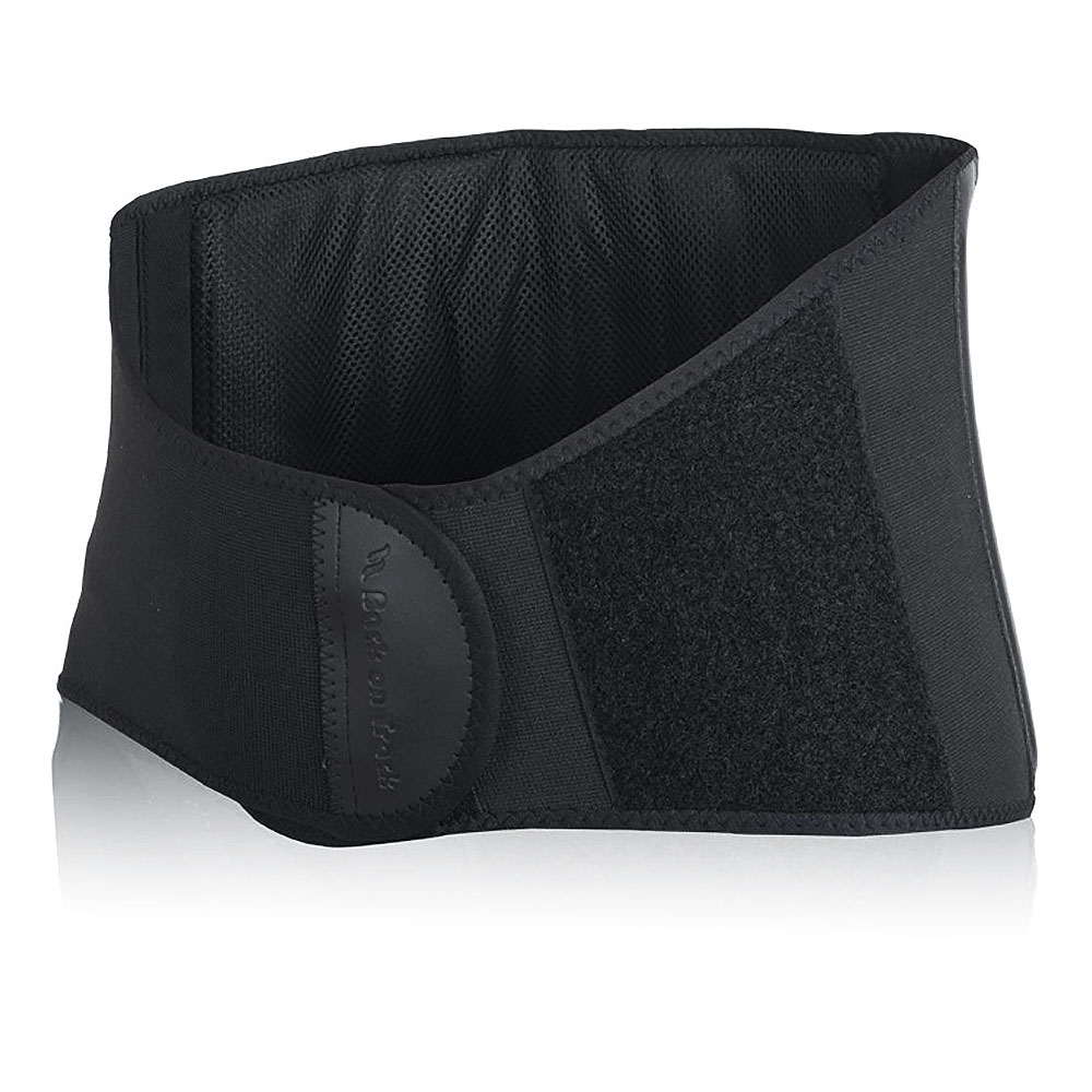 SMALL BACK ON TRACK BODY PAIN RELIEF THERMAL WARMTH BACK BRACE BLACK