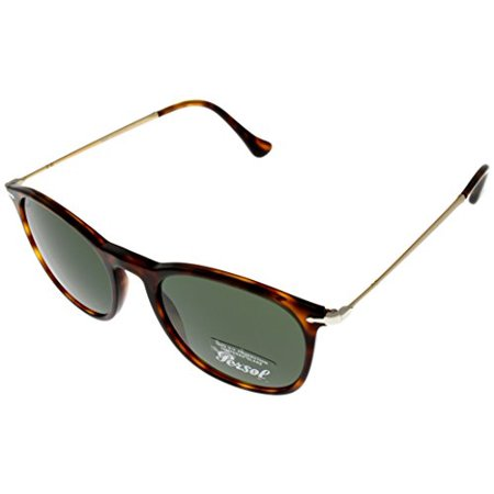 Persol Sunglasses Unisex Square Havana PO3124S 24/31 Size: Lens/ Bridge/ Temple: 50_19_140_42.1