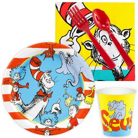 Dr. Seuss Snack Pack 16 Guest (Dr Seuss Accessories)